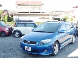 【目立つ青色ワゴン型カローラ】カローラフィールダー